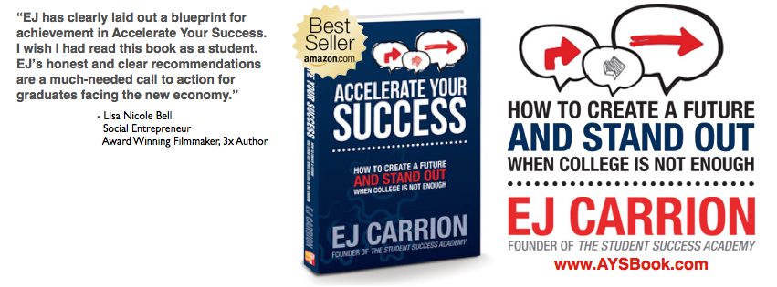 EJ Carrion Bestselling Book